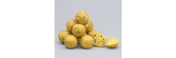 Boilies und andere Baits