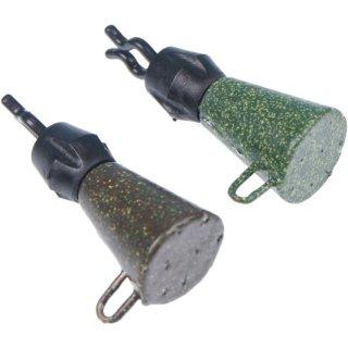 GARDNER LIGHTWEIGHT CAPTIVE BACK LEADS, 44 g, 2er Pack, green oder sand