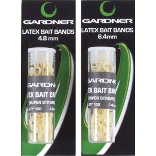 GARDNER LATEX BAIT BANDS verschiedene Größen wählbar