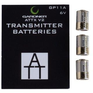 GARDNER ATTX V 2 Sender Batterieset GP11A, 3 Stück