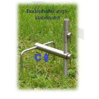 Reuben Heaton Edelstahl Stabilizer für 16 mm oder 22 mm Bankstick