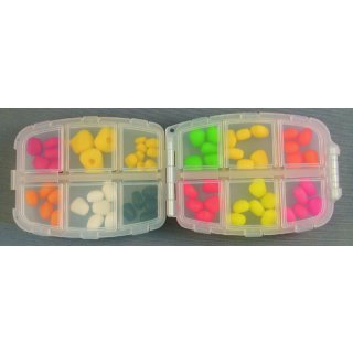 Enterprise Tackle Imitation Bait Pop Up Corn Selection Box, Kunstköder Sortimentbox