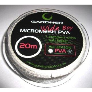 GARDNER Wide Boy MICROMASH PVA Refill, Nachfüllpack Durchmesser 35 mm, 20 m