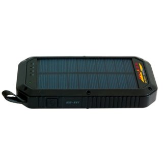 Basic Nature Powerbank 8000 mAh mit Solarfunktion