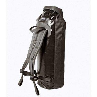 BasicNature Seesack, Rucksack mit Schultertrageriemen, Größe 40, 60, 90 oder 180 Liter schwarz