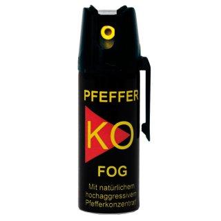 Ballistol Klever Pfefferspray, Tierabwehrspray KO FOG - 50 ml