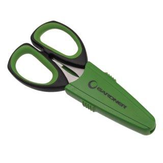 Gardner  Ultra Blades Spezial-Schere mit Glatt und Wellenschliff inkl. Schutzhülle