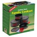 COGHLANS Non-Stick Carbonstahl Kochset - für 4 Personen
