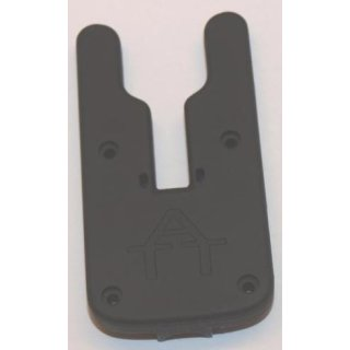 ATTs iw Backplate Underlit, hintere Gehäusehälfte für ATTs iw Underlit Wheel Alarm Bissanzeiger