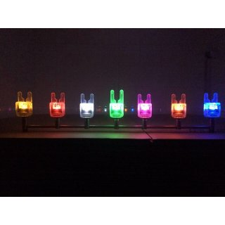 2er Set Crystal ATTs IW Underlit Funkbissanzeiger inkl. Crystal Deluxe Receiver, verschiedene Farben
