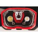 Coleman Stirnlampe, Kopflampe CXS + 200 mit Rotlicht