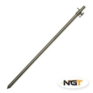 NGT Edelstahl Stainless Steel Bankstick Large, 50-90 cm