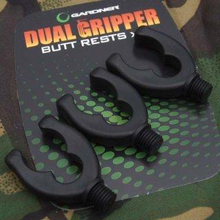 GARDNER Dual Gripper Head Butt Grip, Rutenauflage, Rutenhalter, 3 Stück