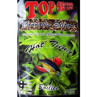 Top Secret Cannabis Edition Boilie Hot Tuna, Thunfisch 1 kg