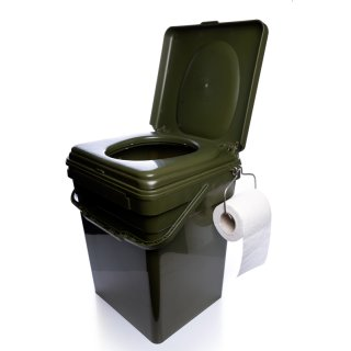 RidgeMonkey CoZee Toilet Seat, Cosy Toilettensitz für Modular Bucket System XL Eimer 30 Liter
