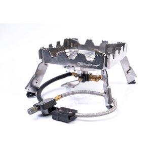 RidgeMonkey Quad Stove Pro Portable Single Stove, Gaskocher, Kocher