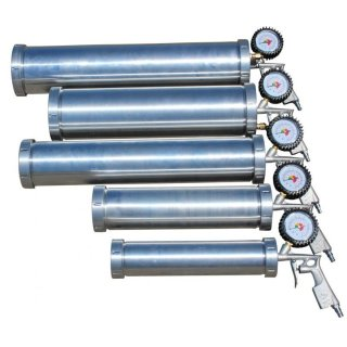 Druckluft Baitgun Airgun Teiggun Boiliegun pneumatisch 3850 ml