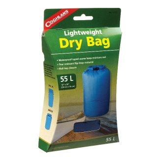 Coghlans Packsack Lightweight Dry Bag, 55 Liter