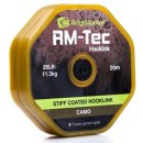 Ridgemonkey Tec Stiff Coated Hooklink Braid  25 lb....
