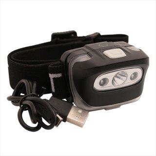 ATT Pulsar USB Kopflampe, Stirnlampe