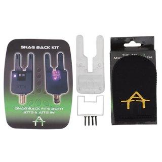 Crystal ATTs Snag Back Backplate Kit Original, hintere Gehäusehälfte für Crystal ATTs & ATTs iw Underlit Alarm Bissanzeiger