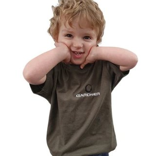 Gardner Tackle Children Green T-Shirt Kinder T-Shirt