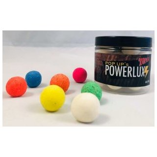 Top Secret Powerlux Fluoro Pop Up Boilies, Fermento, rot