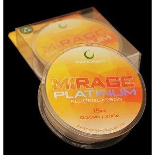Gardner Tackle Mirage Platinum Fluorocarbon Hauptschnur
