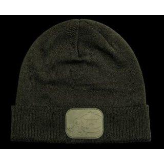 RidgeMonkey APEarel Dropback Beanie Hat, Mütze Grün, Green