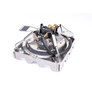 RidgeMonkey Quad Stove Pro Mini Portable Single Stove, Gaskocher, Kocher