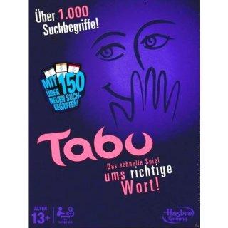 Hasbro Gaming Spiel Tabu neue Edition