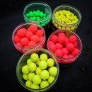 Top Secret Powerlux Fluoro Pop Up Boilies Bright Berry, pink