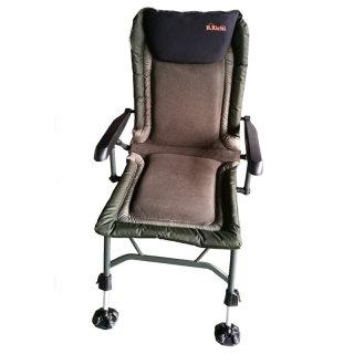 B.Richi Relax Pro Carp Chair Karpfenstuhl mit Armlehnen Angelstuhl Campingstuhl