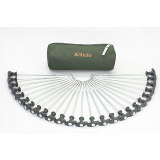 B.Richi T-Pegs Heavy 30 cm - 25er Pack + Tasche