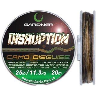 GARDNER DISRUPTION, 15 lb (6,8 kg) oder 25 lb (11,3 kg), 20 m, 2 Farben wählbar